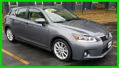 Lexus : CT 200h Hybrid Leather Heated Bluetooth MoonRoof ONE OWNER 2012 used 1.8 l i 4 16 v automatic fwd hatchback gray lexus hatch alloy moon roof