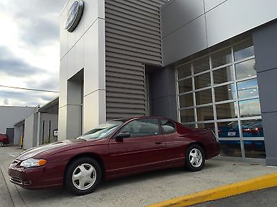 Chevrolet : Monte Carlo SS LOW MILES! CLEAN CARFAX! SUPER CLEAN MONTE CARLO SS