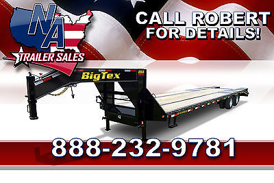 2015 Big Tex Trailers Closeout Model - 40' Gooseneck Trailer 22GN-40BK