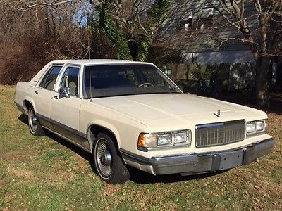 Mercury : Grand Marquis 113 k miles tan 4 door sedan