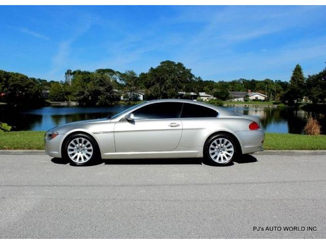 BMW : 6-Series 645Ci CLEAN 645Ci COUPE 4.4 V8 AUTOMATIC TWO OWNER 64,199 LOW MILES CD NAVAGATION