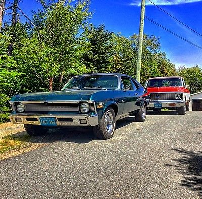 Chevrolet : Nova 1970 california nova matching numbers car