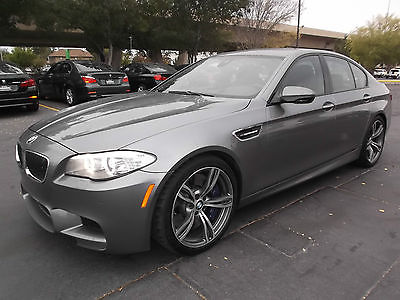BMW : M5 Executive 4 Door Sedan Immaculate 2013 BMW M5 Executive Pkg+ Fully Loaded to the MAX. $111k MSRP!!!