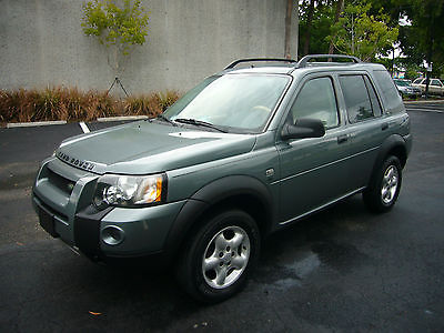 Land Rover : Freelander SE - AWD - Special Edition Sport Utility Vehicle Free Powertrain Warranty - All Wheel Drive (AWD) - Special Edition (SE) - Nice