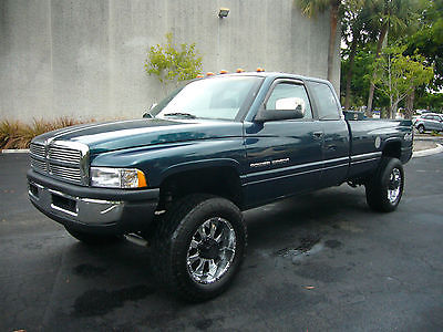 Dodge : Ram 2500 Laramie SLT Power Wagon Extended Cab Long Bed 4x4 Free Warranty - 100% Florida Owned - No Rust! - Lifted - 4x4 - V10 - Power Wagon