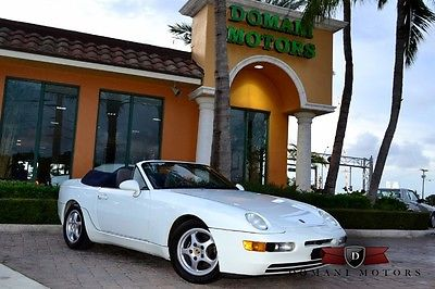 Porsche : 968 Cabriolet ONE OWNER, CLEAN CARFAX, BOOKS AND KEYS, MANUAL TRANS.