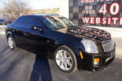 Cadillac : CTS 4dr Sedan 2004 cadillac cts v ls 6 5.7 l v 8 6 speed nav leather heated seats sunroof ctsv