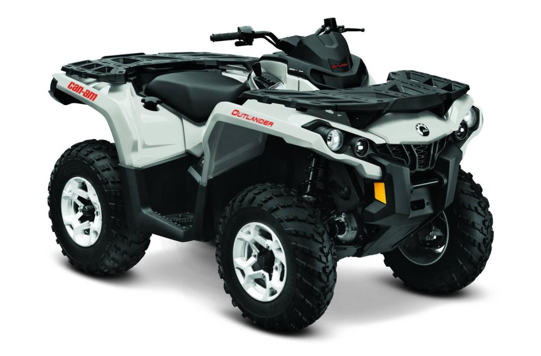 can am outlander max xt 570 pearl white motorcycles for sale. Black Bedroom Furniture Sets. Home Design Ideas