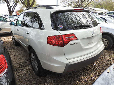Acura : MDX 4WD 4dr 4 wd 4 dr low miles suv automatic gasoline 3.7 l v 6 cyl white