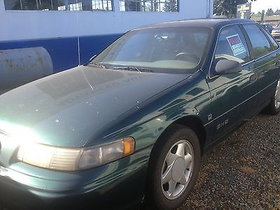Ford : Taurus SHO Sedan 4-Door 1993 ford taurus 3.0 l 5 speed green high mileage