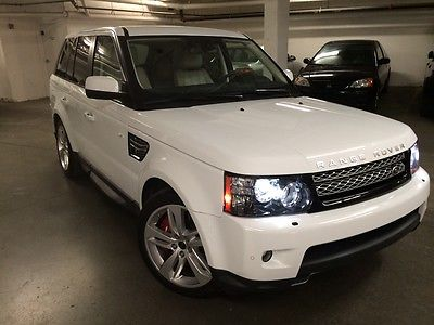 Land Rover : Range Rover Sport 2013 land rover range rover sport supercharged