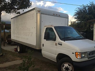 Ford : E-Series Van E-350 Super 2002 box truck ready to work commercial