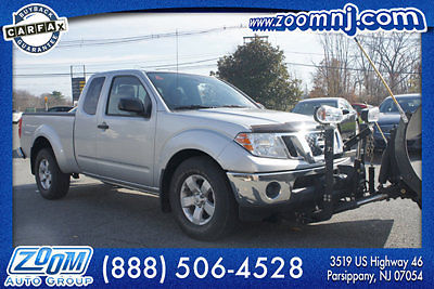 Nissan : Frontier 4WD King Cab Automatic SV 51 k mi 2011 nissan frontier 4 wd snow plow finance warranty premium
