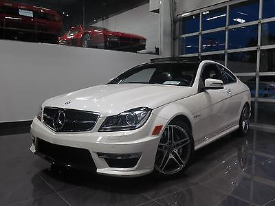 Mercedes-Benz : C-Class Base Coupe 2-Door 2012 mercedes benz c 63 amg base coupe 2 door 6.3 l
