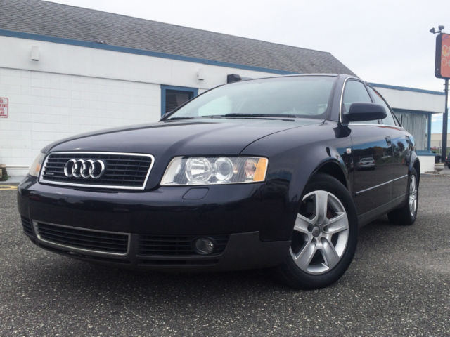 Audi : A4 4dr Sdn 3.0L 2002 audi a 4 awd quattro only 56 k miles 3.0 l carfax leather heated seats