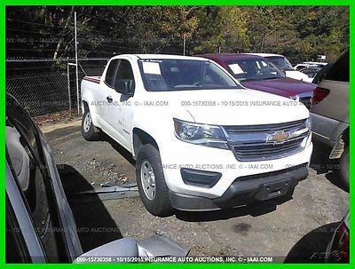 Chevrolet : Colorado 2WD Ext Cab 128.3 WT 2015 2 wd ext cab 128.3 wt used 2.5 l i 4 16 v manual rwd