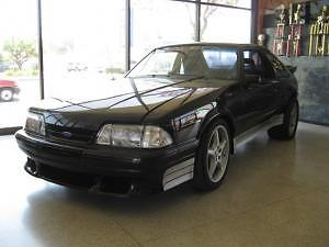 Ford : Mustang SALEEN #163 1987 ford mustang lx hatchback 2 door 5.0 l