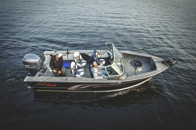 2014 Alumacraft Trophy 205 Sport