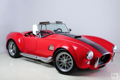 Shelby : RT3 RED 1965 used backdraft roadster 402 rfi roush tko 600 490 hp hell red black stripes