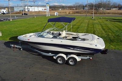 2005 SEA RAY 200 BOWRIDER, 21FT, MERC 5.0L 220HP, GPS, COVERS, CARPETS, TRAILER