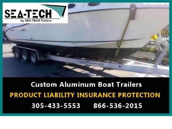 2016 New SEA-TECH Triple Axle Aluminum Trailers