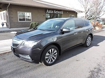 Acura : MDX Tech/Entertainment Pkg 2015 acura mdx sh awd tech pkg loaded