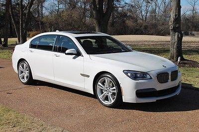 BMW : 7-Series 740Li One Owner Perfect Carfax Factory Warranty Like New Original MSRP New $95145