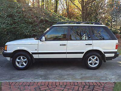 Land Rover : Range Rover 1-OWNER GA ROVER 2000 land rover range rover se sport utility 4 door 4.0 l 1 owner