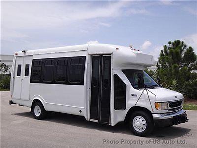 Ford : E-Series Van Econoline Commercial Cutaway 2000 ford e 450 cutaway wheelchair shuttle bus 7.3 l turbo diesel florida van