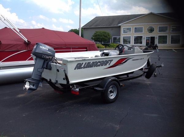 2009 Alumicraft Fisherman 160 CS