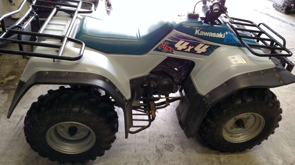 kawasaki bayou 300 4x4 motorcycles for sale. Black Bedroom Furniture Sets. Home Design Ideas