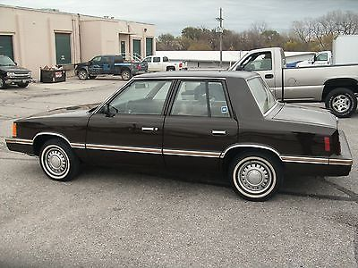 Plymouth : Other Standard 1983 plymouth reliant survivor 14000 miles 1 owner original