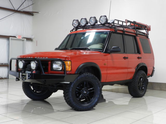 Land Rover : Discovery LIFTED 4X4 A UNIQUE CUSTOM LAND ROVER DISCOVER ONE OWNER LIFTED 53K MILE WINCH ROOF BASKET