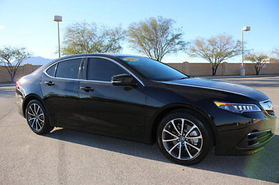 Acura : TLX 4dr Sedan FWD V6 2015 acura tlx v 6 back up camera low miles loaded
