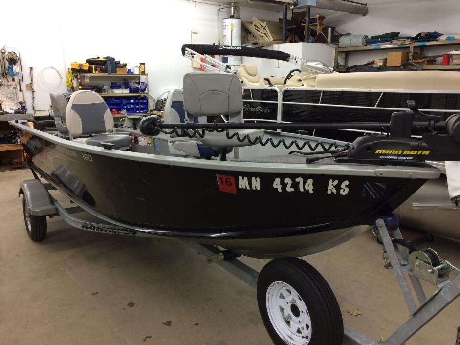 2011 Alumacraft Fisherman 160