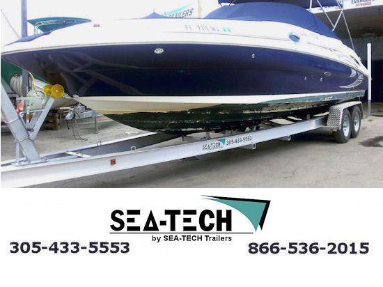 2016 SEA-TECH Tandem Axle Aluminum Trailers