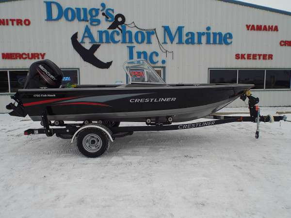 2015 Crestliner 1750 Fish Hawk WT