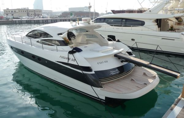 2007 Pershing 50 Shaft