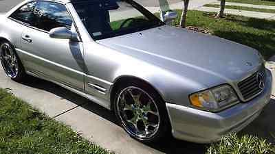 Mercedes-Benz : SL-Class SL 500 1999 sl 500