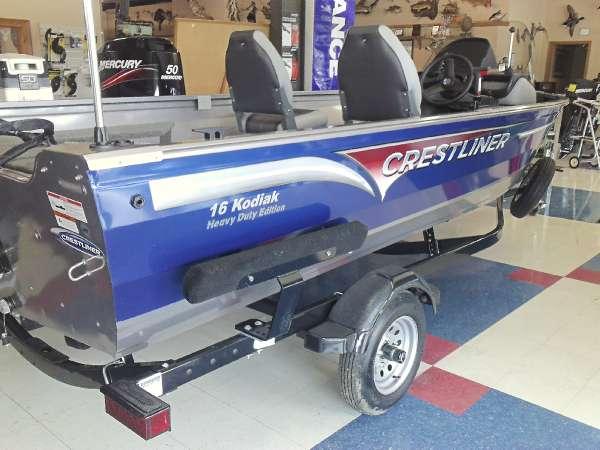 2015 Crestliner 16 Kodiak SC