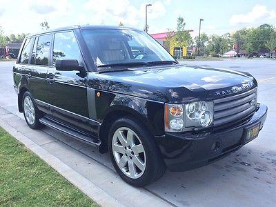 Land Rover : Range Rover HSE Sport Utility 4-Door 2005 land rover range rover hse sport utility 4 door 4.4 l