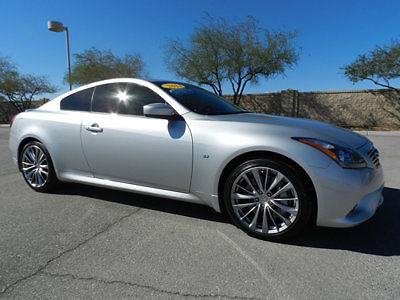 Infiniti : Q60 2dr Manual Sport RWD 2014 infinity q 60 coupe 6 k miles 6 speed manual heated seats xm satelite
