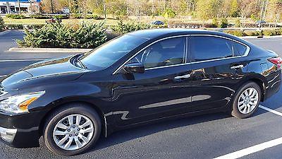 Nissan : Altima S 2015 nissan altima black 4 door