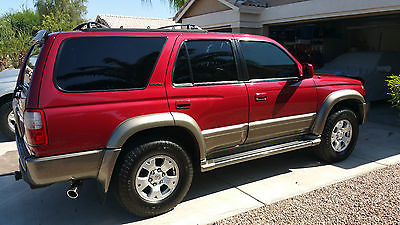 Toyota : 4Runner Limited Sport Utility 4-Door 2000 toyota 4 runner limited showroom new condition very low miles