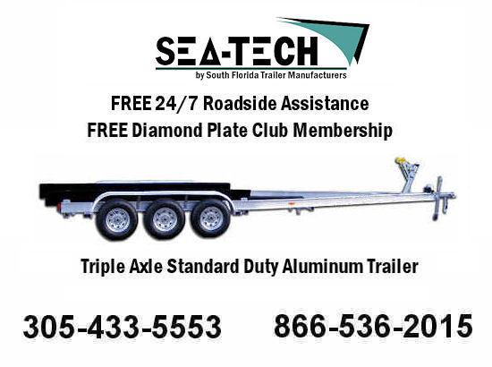 2016 New SEA-TECH Triple Axle Trailers