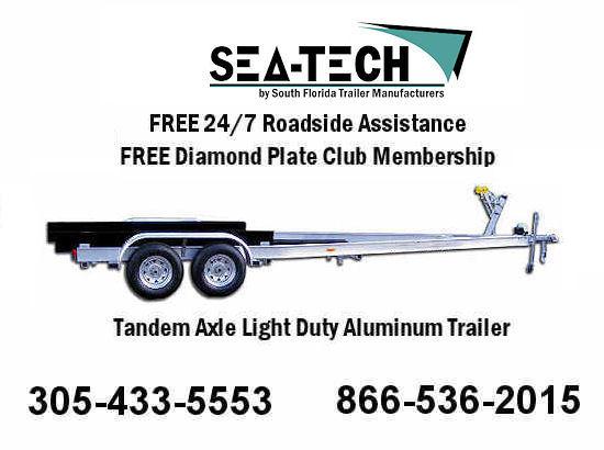 2016 New SEA-TECH Tandem Axle Trailers
