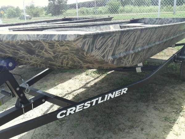 2015 Crestliner 1546 Retriever Jon