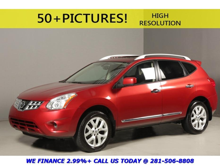 Nissan Dealer Houston >> 2012 Nissan Rogue Red Cars for sale