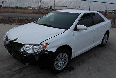 Toyota : Camry L  2014 toyota camry l damaged salvage only 18 k miles nice unit loaded wont last