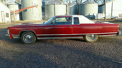 Lincoln : Continental 1975 lincoln continental 2 door coupe